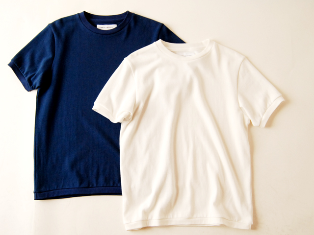 COMMONO reproducts(コモノ リプロダクツ)/SS CREW KNIT(WHITE)