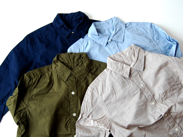 COMMONO reproducts WORKERS(コモノ リプロダクツ ワーカーズ)/WORKERS SHIRTS