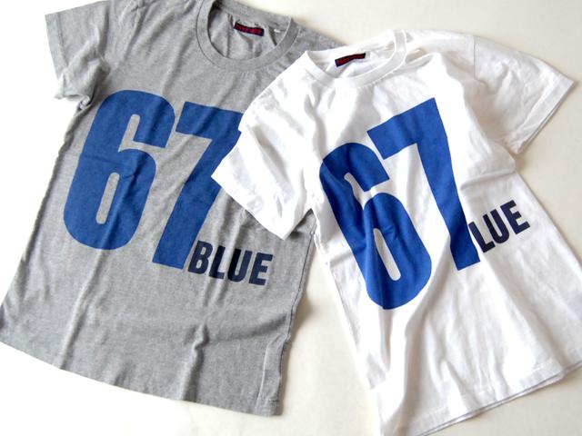 BLUE BLUE(ブルーブルー)/SS TEE