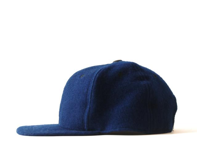 BLUE BLUE JAPAN(ブルー ブルー ジャパン)/インディゴ手染めメルトンクラシカルBBキャップ