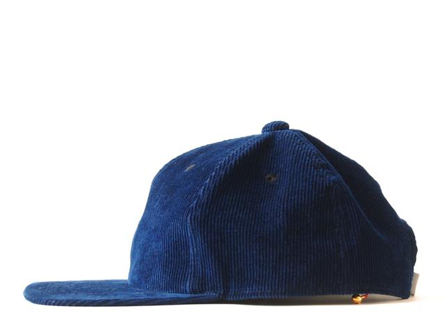 BLUE BLUE JAPAN(ブルー ブルー ジャパン)/インディゴ テゾメコーデュロイ クラシカルBBキャップ