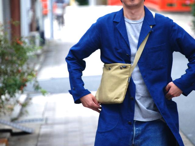 BLUE BLUE(ブルーブルー)xPORTERジャーマンクロス サコッシュ