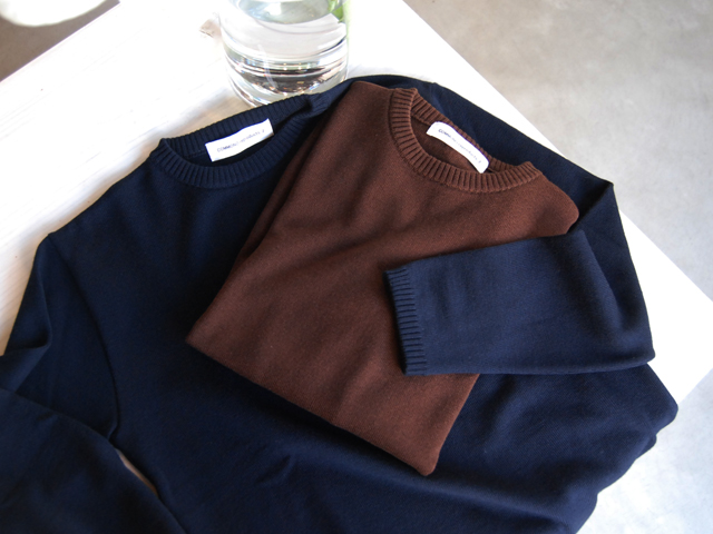 COMMONO reproducts(コモノ リプロダクツ)/Crew Neck Knit