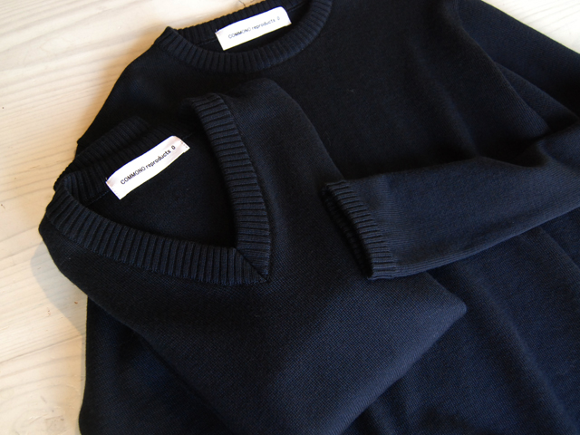 COMMONO reproducts(コモノ リプロダクツ)/Crew Neck Knit V Neck Knit