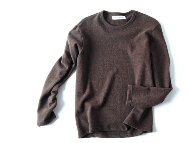 COMMONO reproducts(コモノ リプロダクツ)/Crew Neck Knit TOP