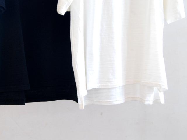 HOLLYWOOD RANCH MARKET(ハリウッドランチマーケット)/スラブガーゼ ルースクルーネックTシャツ