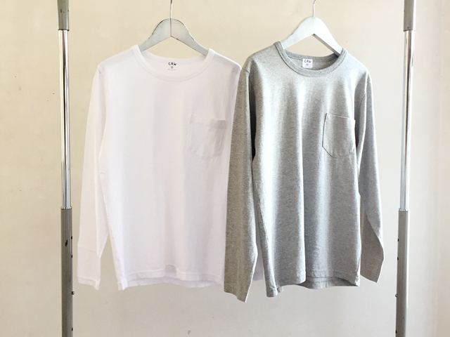 COMMONO reproducts WORKERS(コモノ リプロダクツ ワーカーズ)/LONG CREW NECK TEE
