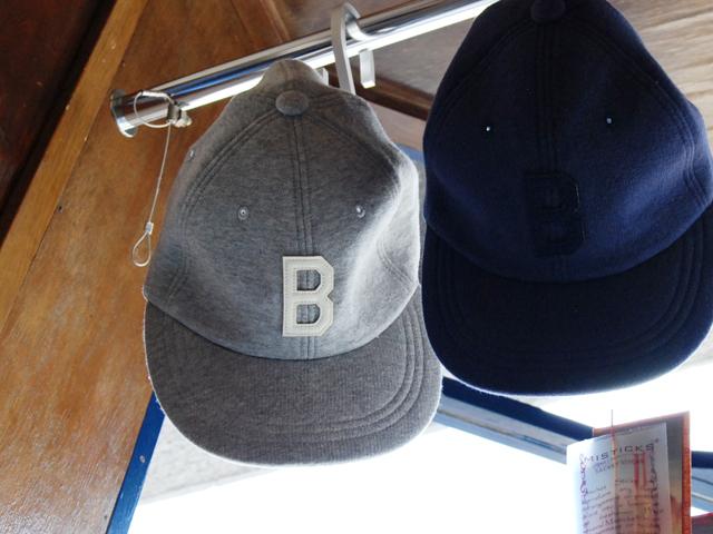 H.R.REMAKE/SWEAT B TYPE CAP