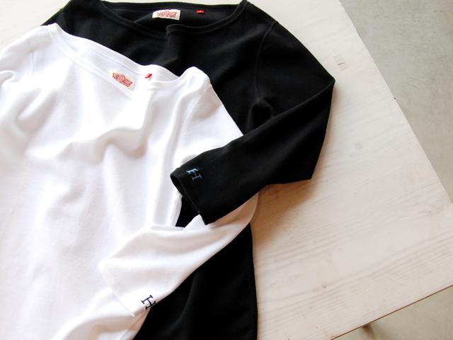 HOLLYWOOD RANCH MARKET/ストレッチフライスボートネック ハーフスリーブTシャツ