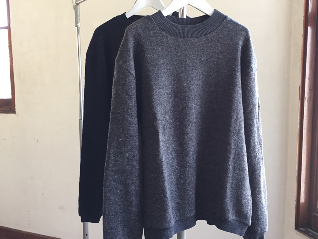COMMONO reproducts/CREW NECK KNIT