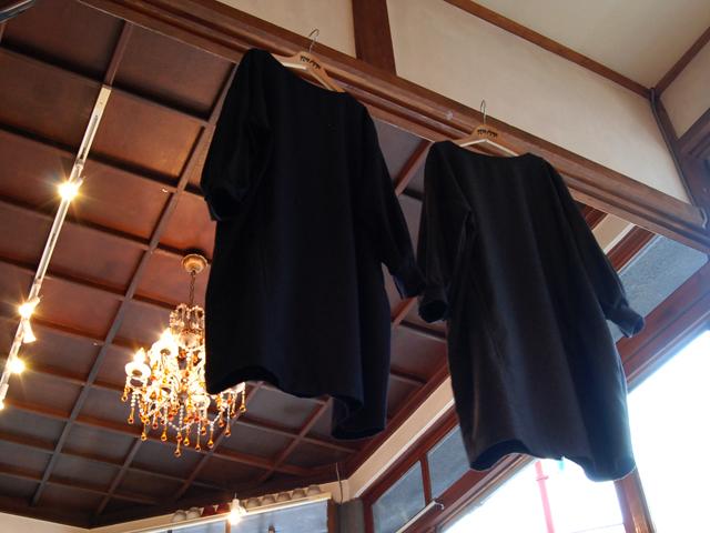 BLUE BLUE JAPAN/ウールフラノ プルオーバーワイドワンピース
