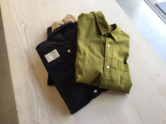 COMMONO reproducts WORKERS/CARPENTER SHIRTS