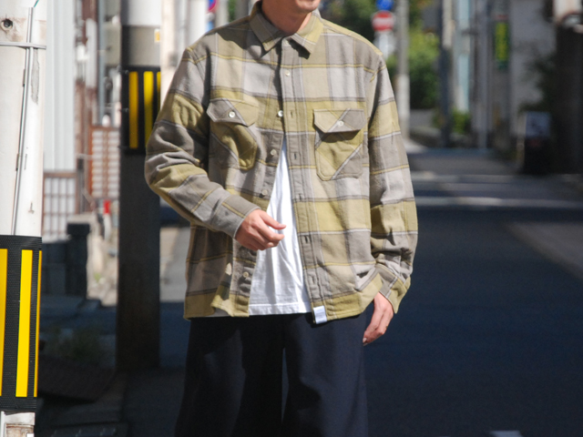 DESCENDANT/VANNING / CHECK LS SHIRT