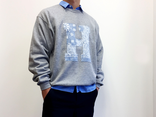 H.R.REMAKE/H PATCH CN SWEAT