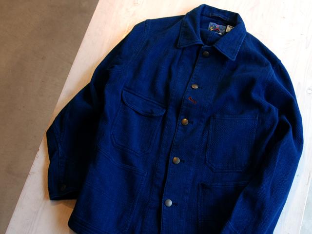 BLUE BLUE JAPAN/カセゾメサシコ レイルロードマンジャケット