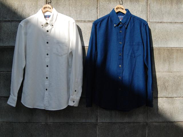 BLUE BLUE JAPAN/ナナメクズシ BDシャツ