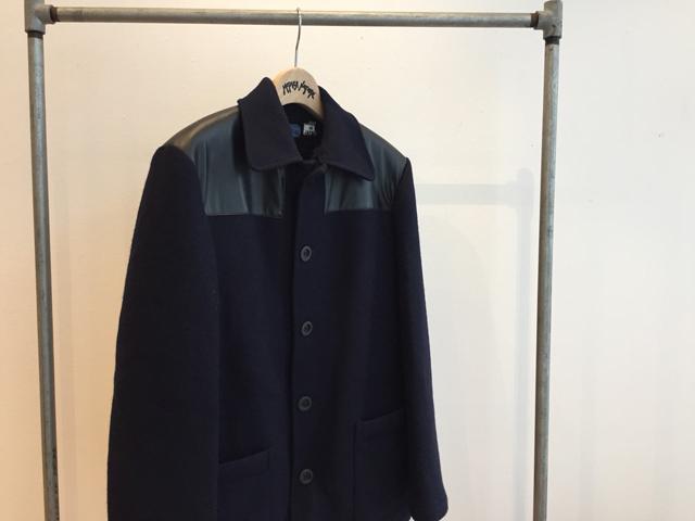 BLUE BLUE JAPAN/ニットメルトン ウラボアドンキージャケット