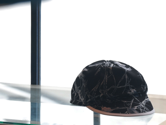 White Mountaineering/WM x VALLICANS FOREST CAMOUFLAGE PRINTED CAP