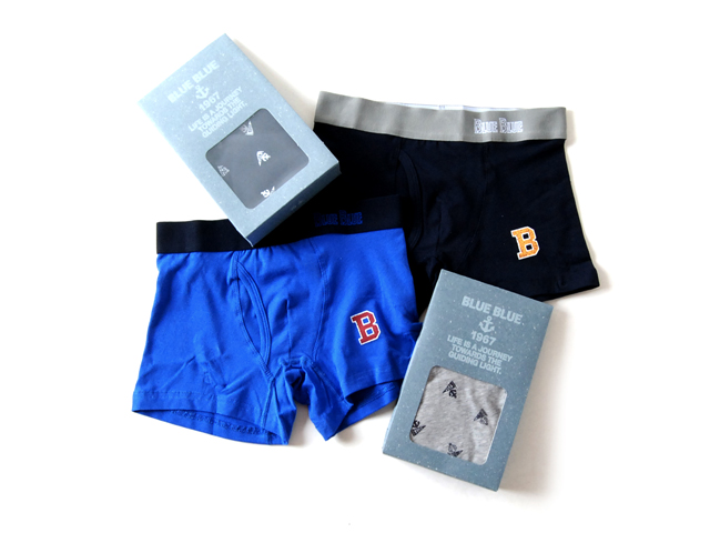 BLUE BLUE/BOXER BRIEF