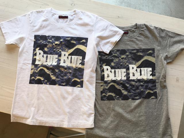 BLUE BLUE(ブルー ブルー)/SPACE BLUEBLUE Tシャツ