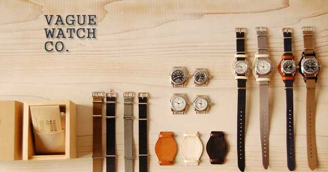 VAGUE WATCH CO.価格改定のお知らせ